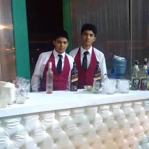fiesta neon 15 años dj equipo de sonido luces servici barman