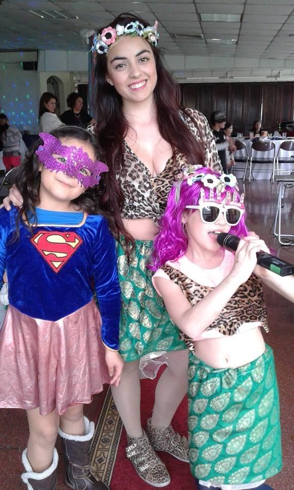 Fiesta Spa Karaoke Desfile Disfraz Belleza Unicornio Ninos