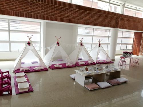 fiesta spa para niñas, fiesta pijamas y decoración eventos