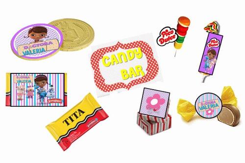 fiesta temática doctora juguetes 100% personalizado