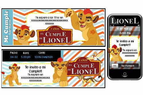 fiesta temática la guardia del león