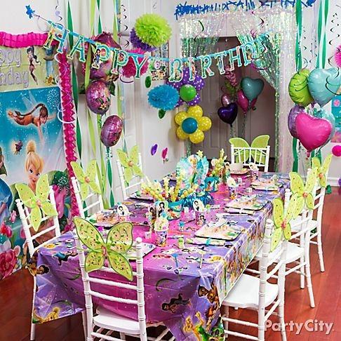 fiestas con decoración
