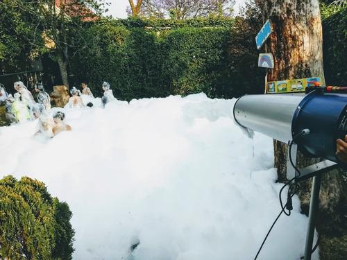 fiestas de espuma/renta de máquinas de espuma