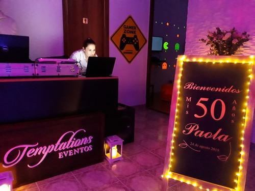 fiestas evento salón