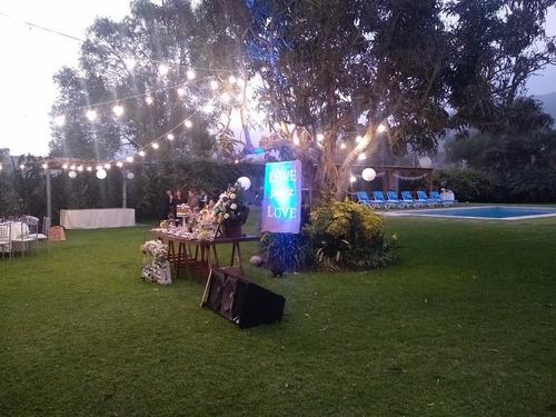fiestas eventos catering
