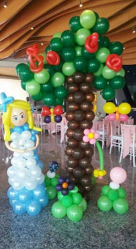 fiestas eventos decoracion globos
