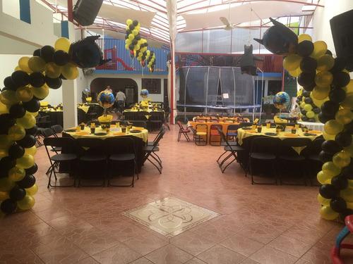 fiestas eventos jardín salón