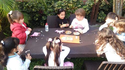 fiestas infantiles a domicilio pijamadas,spa party ,talleres