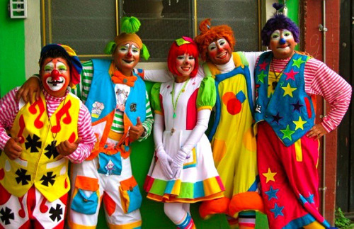 fiestas infantiles inflable payaso payasita mago baby shower