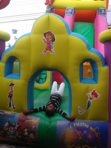 fiestas infantiles kedy, saltarín, algodón,granizado,hotdog