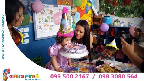 fiestas infantiles payasitos baby shower animaciones quito
