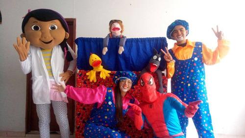 fiestas infantiles - payasos - títeres - recreacionistas