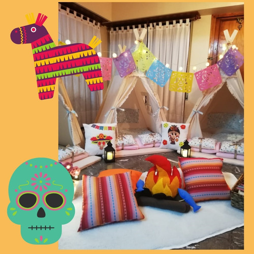 fiestas infantiles: pijamadas y cumpleaños en casa.
