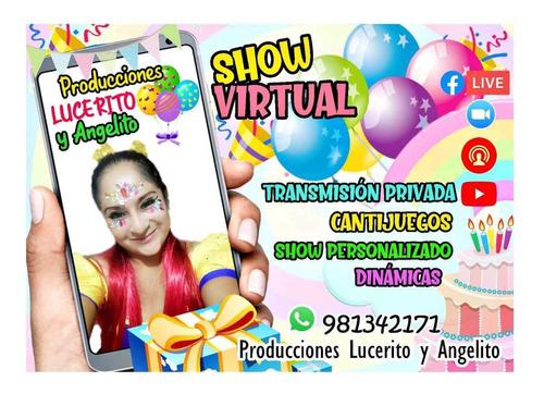 fiestas infantiles show virtual