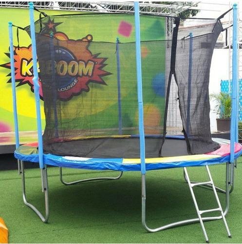 fiestas infantiles sonido animacion colchon cama elastica