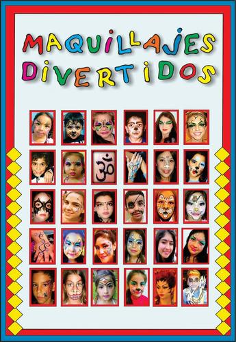 fiestas maquillajes divertidos & tattoo / niños y adultos