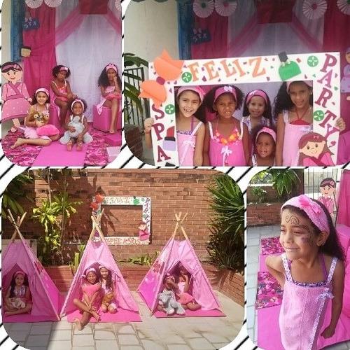 fiestas spa party para las princesas de la casa