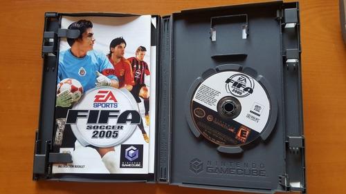 fifa 05 nintendo gamecube original con caja