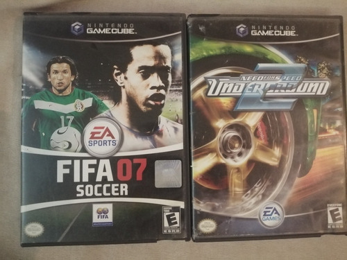 fifa 07 y need for speed underground2