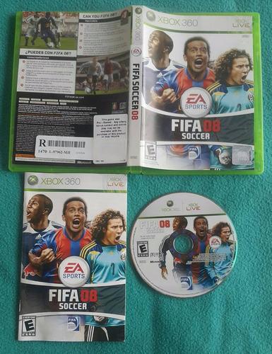 fifa 08 - soccer * fisico / xbox 360 - live