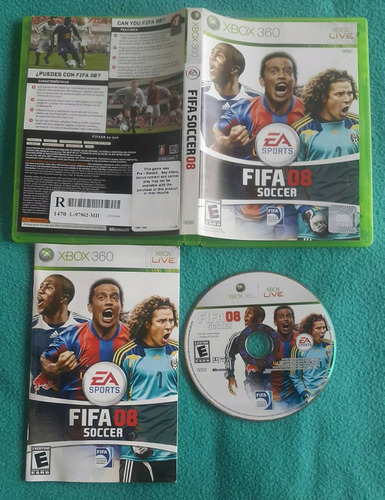 fifa 08 - soccer - futbol - fisico / xbox 360 live