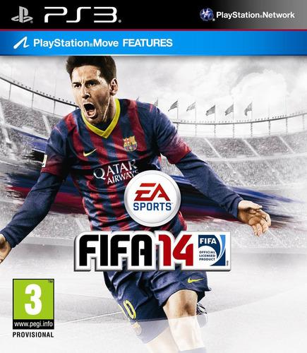 fifa 14 , inglês e espanhol , play 3  código psn!!!!