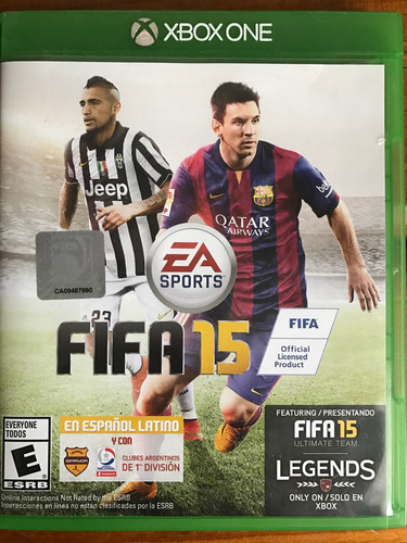 fifa 15 xbox one impecable!