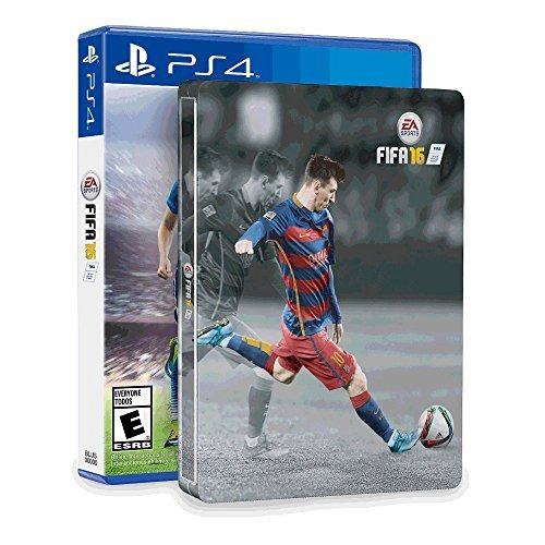 fifa 16 amp; steelbook (amazon exclusive) - playstation 4