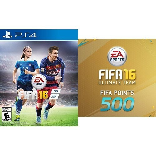 fifa 16 - edición estándar - playstation 4 ea sports f w86