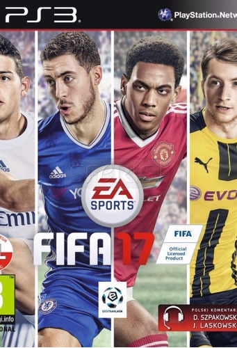 fifa 17 juego ps3 formato digital promocion