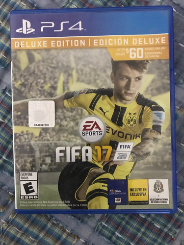 fifa 17 play station 4 impecable!