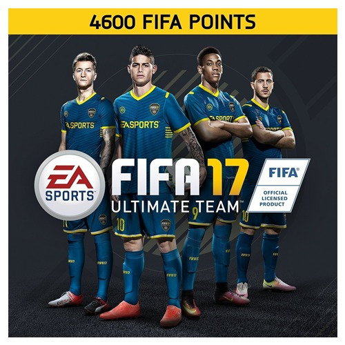 fifa 17 points 4600 fifa points ps4 ultimate team fifa