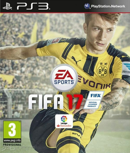 fifa 17 ps3 digital origina entrega inmediata! playstation 3