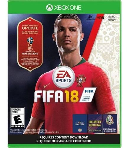 fifa 18 copa mundial ea sports xbox one videojuego