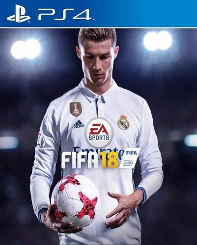 fifa 18 ea sports 2018 juego playstation 4 ps4 stock fijo