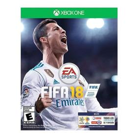 Fifa 18 Fisico Nuevo Y Sellado Xbox One Envio Gratis