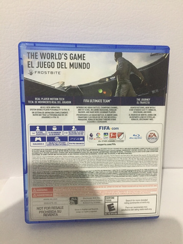 fifa 18  físico playstation 4