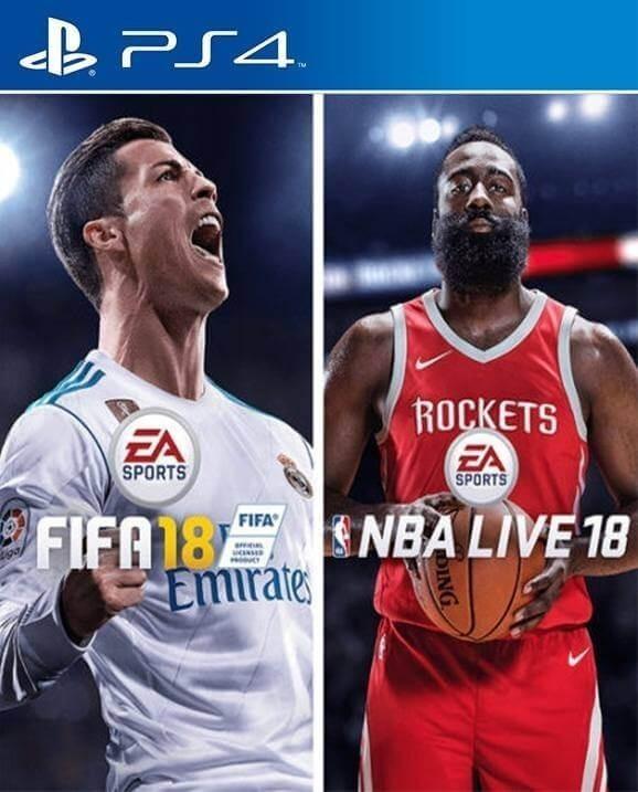 Fifa 18 Nba Live 18 Necesita Internet Juego Digital Ps4 Bs