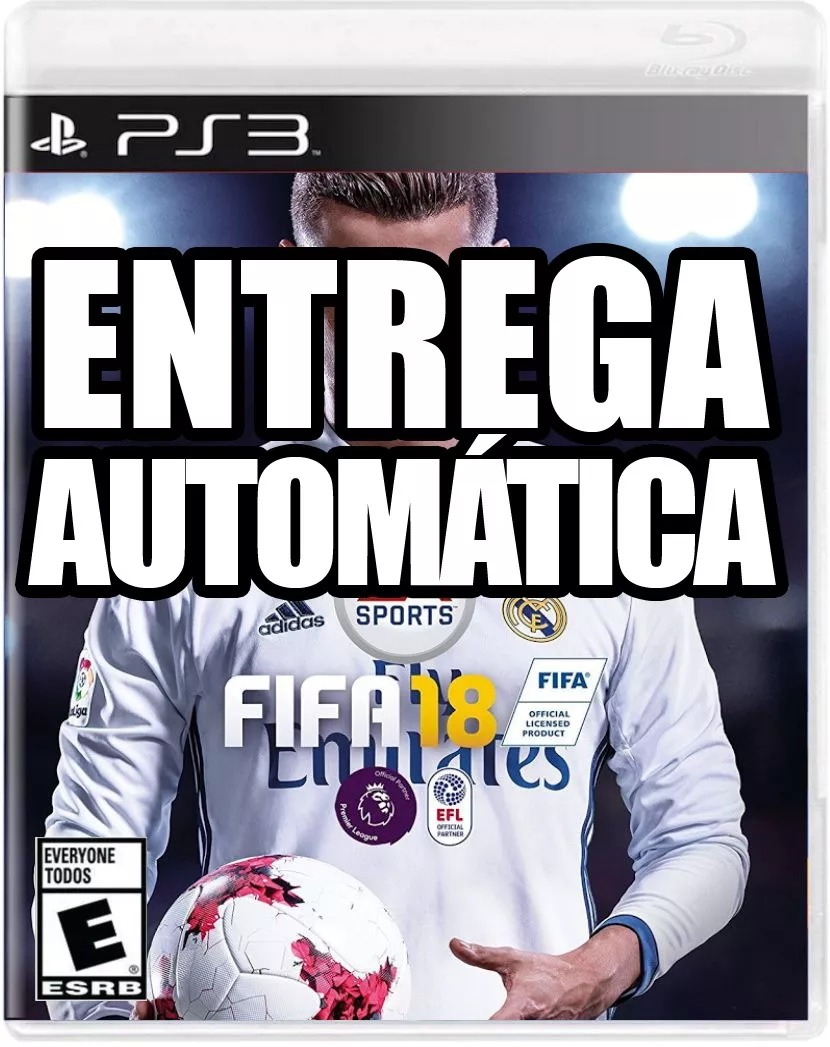 53a9353d05 Fifa 18 Ps3 Legacy Edition Dublado Pt-br Receba Agora - R  99