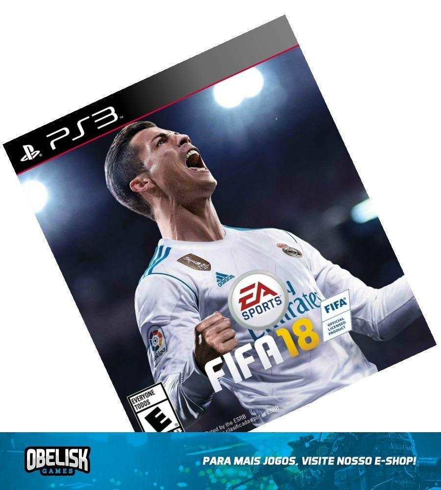 27a50774de fifa 18 ps3 mídia digital download psn jogo 2018 português. Carregando zoom.