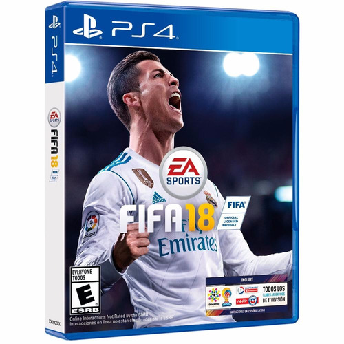 fifa 18 ps4 fisico 2018 playstation 4 fifa18 - palermo