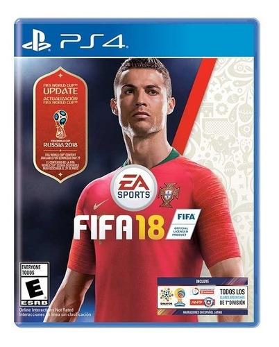 fifa 18 ps4 juego original fisico sellado world cup edition
