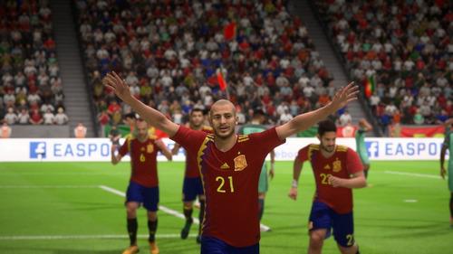 fifa 18 world cup edition ps4 original fisico español latino