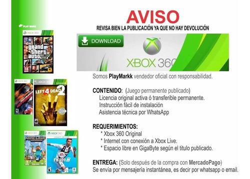 fifa 18 xbox 360 - español latino permanente - pegunta stock