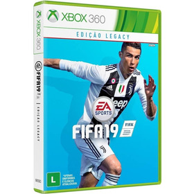 Fifa 19 - Xbox 360 - Novo - Midia Fisica - Lacrado Português