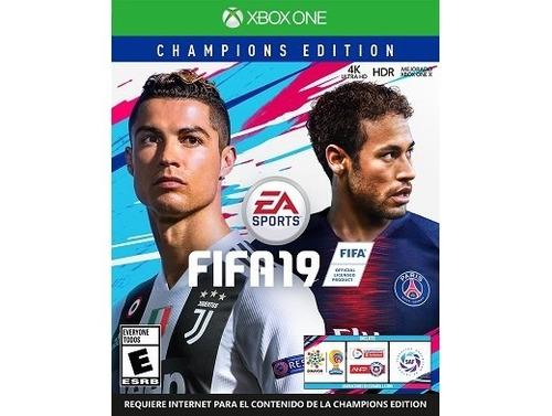 fifa 19 champions edition xbox one envio gratis