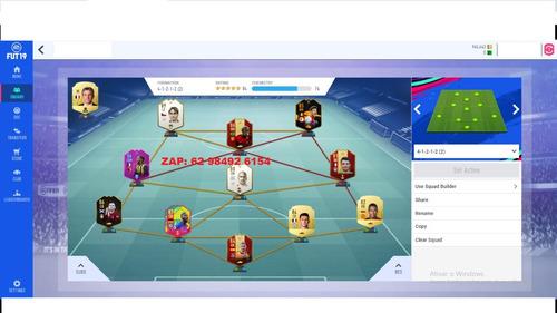 fifa 19 conta no ultimate team ps4 com 1kk de coins