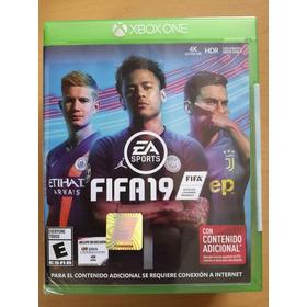Fifa 19 En Xbox One. Nuevo Y Sellado Nueva Portada.