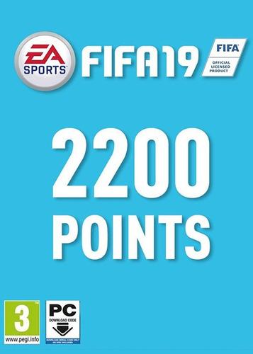 fifa 19 fut points 2200 [pc]
