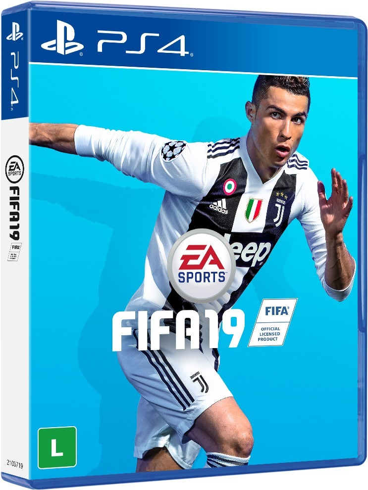 ea9a28391a6 Fifa 19 - Ps4 - (black Friday) - R  119